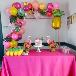 Other - Flamingo birthday party supplies